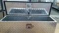 Waterproof Aluminum Trailer Tool Box with Gas Strut 2