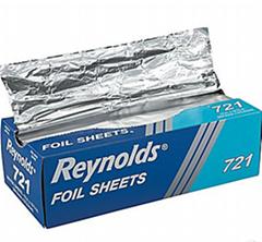 500 sheet Aluminum foil pop-up sheet