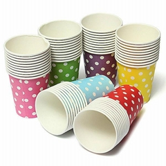 9oz Single Wall Hot Paper Cup