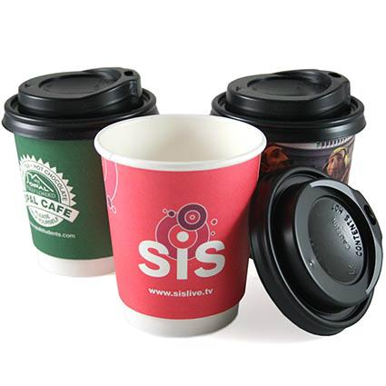 Double wall paper cup for hot coffee 1