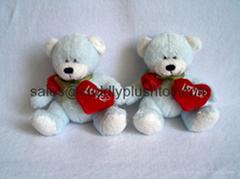 Valentine's Day Plush Hug Bear