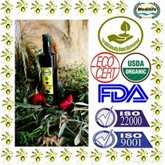 Extra Virgin Olive Oil, Dorica Glass Bottle 750mL