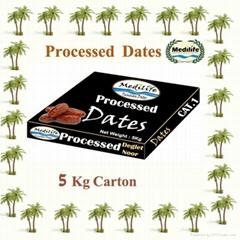 Dates Deglet Noor Processed Dates Carton 5 Kg