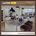 Blue Azul Aran Granite Bar Clue Island Top Countertops Design 1