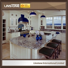Blue Azul Aran Granite Bar Clue Island Top Countertops Design