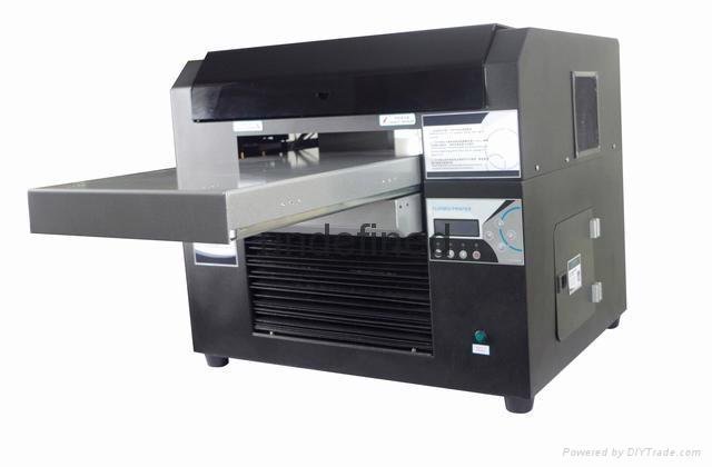 愛普生五代頭UV打印機 小型A3UV打印機 白墨數碼打印機 3