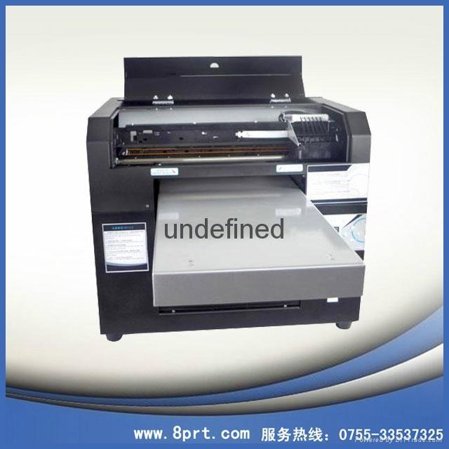 愛普生五代頭UV打印機 小型A3UV打印機 白墨數碼打印機 1