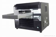 手机壳卡片直接打印图案机器 木板金属打印机   UV数码印花机