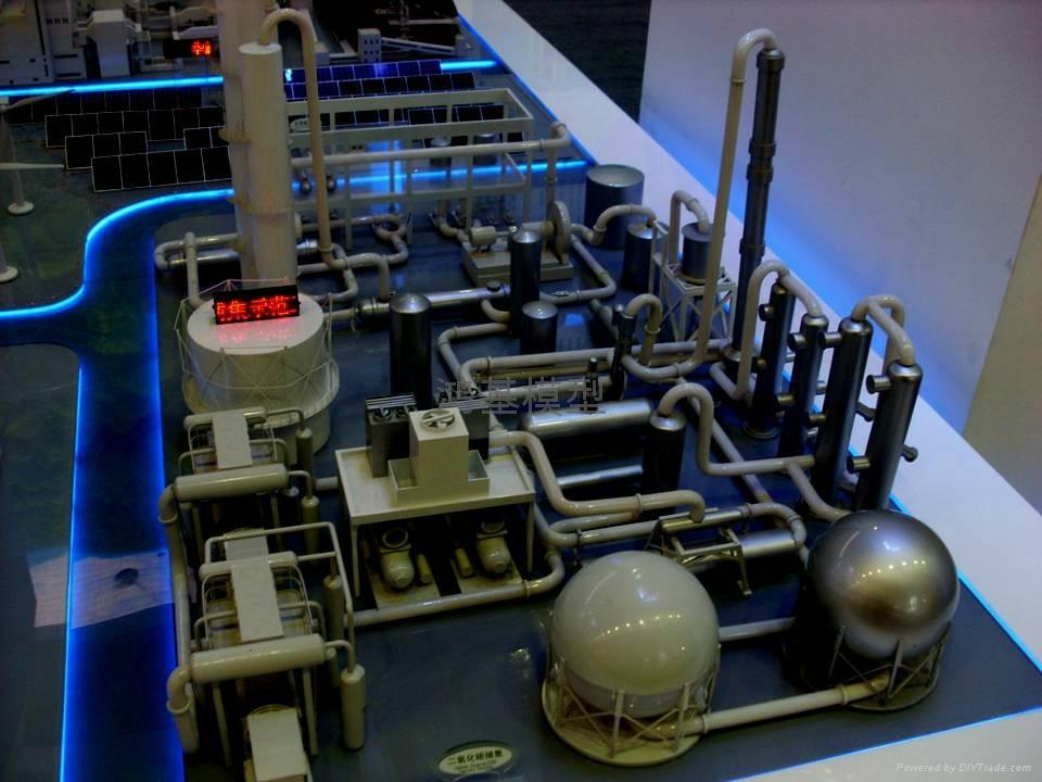 石油化工沙盘模型 5