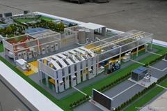 廠區沙盤模型