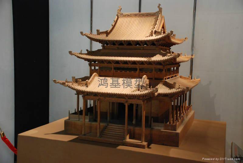 古建模型 2