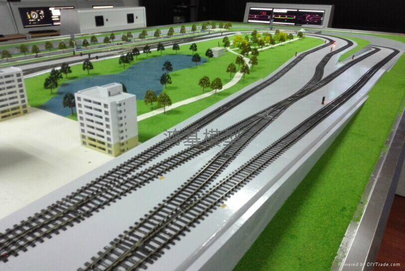 智能交通沙盘模型 4