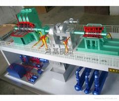 工业机械模型