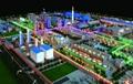 工业厂区沙盘模型 5