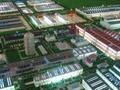 工业厂区沙盘模型 2