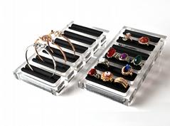 acrylic jewelry display stand holder rack