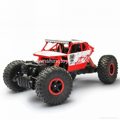 1: 18 Scale Rock Crawler RC Car off-Raod Race Truck