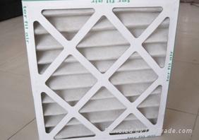 鋁合金框架板式過濾器 1