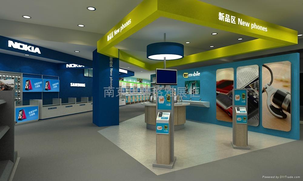 南京電腦手機展示櫃製作 5
