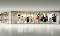 服裝展櫃製作廠家南京展示櫃設計製作