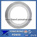 IE3 3 Phase Induction Motor Silicon Steel Stator Lamination 1