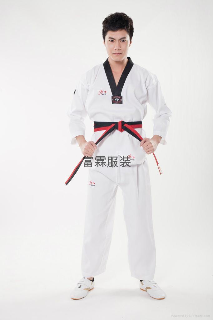 健身服装跆拳道训练服 1