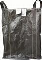 Leak proofing carbon black FIBC