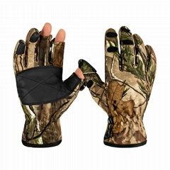 High Quality Camouflage Hunting Shooting Outdoor Sports Gloves For Men Women