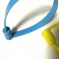 新款塑料封簽 鐵片鎖芯扎帶 集裝箱封條 貨櫃箱鎖 油罐車封條 2