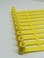 新款塑料封簽 鐵片鎖芯扎帶 集裝箱封條 貨櫃箱鎖 油罐車封條 4