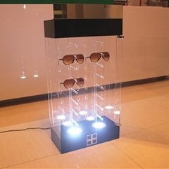 lockable sunglass rack a