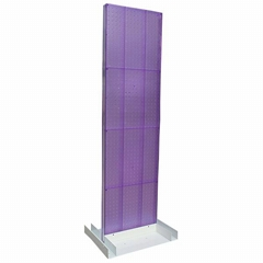 floor standing acrylic cell phone accessory display rack