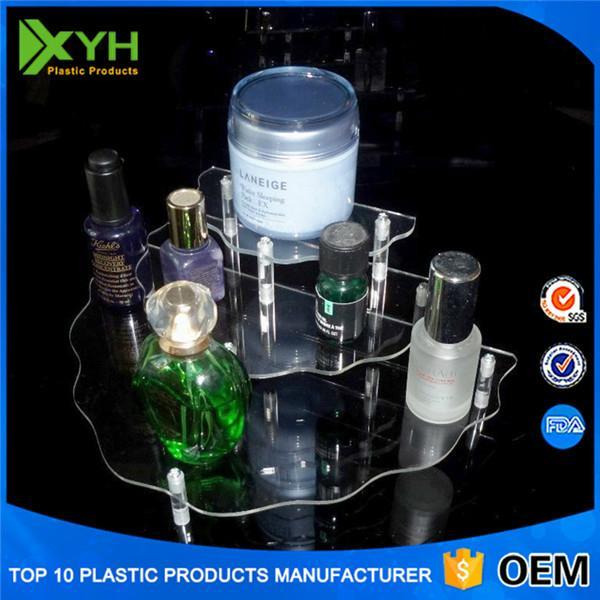 3 DrawersAcrylic  Clear Makeup Organizer Cosmetic Jewelry Box  1