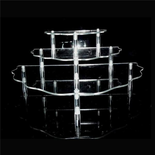 3 DrawersAcrylic  Clear Makeup Organizer Cosmetic Jewelry Box  2