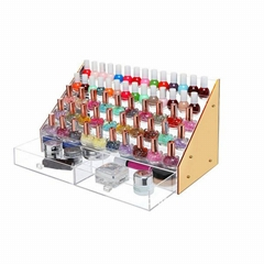 Clear Acrylic Cube Jewelr  Makeup Cosmetic Organizer Box Display
