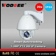 2016 Popular 20x optical zoom 1.3MP Smart Auto-tracking HD IP PTZ Camera