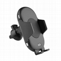 QI Wireless Car Charger 10W Automatic Infrared Induction Car Phone Holder