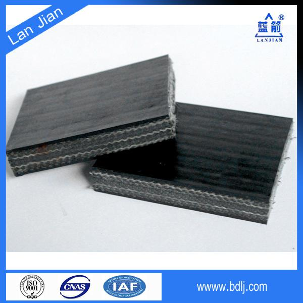 cleated flame resistant conveyor belt used 5