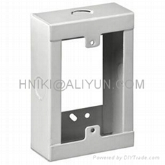 PAINTED STEEL EXTENSION 4X4/ 4X2 KNOCKOUT WALL MOUNT JUNCTION KNOCK BOX