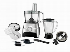 3.5L Bowl FP407 1000W Food Processor With Blender Jar And Grinder