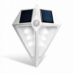 太陽能LED感應牆壁燈