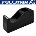 Desk Tape Dispenser 1in Core Black