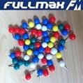 Ball Head Map Push Pins Stationary