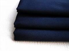 護士服面料滌棉紗絹染色布料TC21x21 100x52 58/60漂白染色布坯布