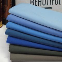 黑色口袋布梭织坯布厂家服装里布衬布TC80/20110*76