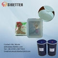 additional cure molding liquid silicon rubber for mould making 1