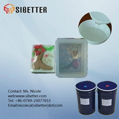additional cure molding liquid silicon rubber for mould making