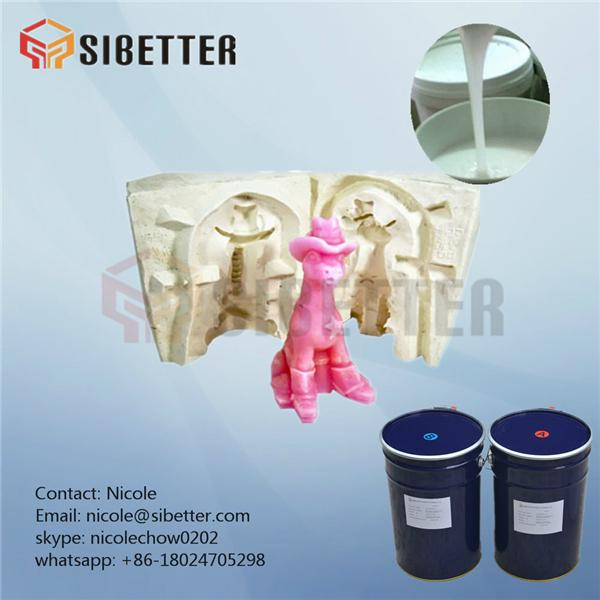 additional cure molding liquid silicon rubber for mould making 4