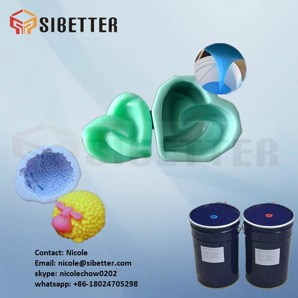 additional cure molding liquid silicon rubber for mould making 5