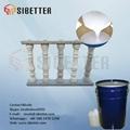 Translucent Platinum RTV Silicone for Culture Stone Molds 3